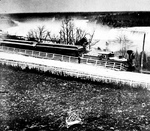 The Erie and Ontario Railroad Train at Falls View, with the Clifton Engine (c. 1870-80's)