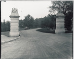 Mowat Gate the entrance to Queen Victoria Park