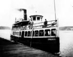 Ongiara Ferry - ran between Queenston and Lewiston circa 1880s