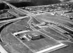 Lewiston-Queenston Bridge - aerial view United States terminal