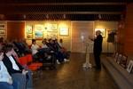 """George Bailey at the Niagara Falls Public Library centennial event """"Niagara"""""""