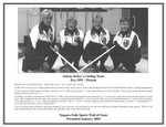 Niagara Falls Sports Wall of Fame - Gloria Sorley's Curling Team - Era 1991 -