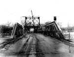 Demolishing the Bascule Bridge in Chippawa, Ontario