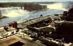 General view Niagara Falls Ontario Canada