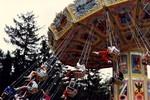 Wave swinger amusement ride at Marineland