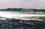 Upper Niagara River Rapids and the Toronto Powerhouse from Three Sisters Islands