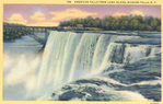 American Falls from Luna Island, Niagara Falls, NY