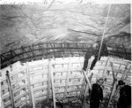 Construction of Ontario Hydro tunnels for the Sir Adam Beck - Niagara Generating Station #2