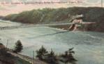Lewiston & Queenston Heights Bridge spanning Lower Niagara River