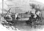 Welland Ship Canal - Building the Third Aqueduct at Welland
