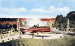 Horseshoe Falls from Oakes garden Theatre Niagara Falls Canada
