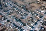 Aerial Views - Main Street south of Lundy's Lane