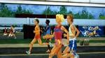 Welland mural depicting athletics