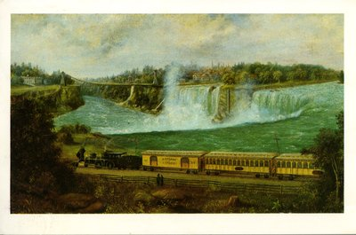The Canada Southern Railway at Niagara, c. 1870