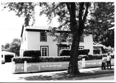 William Kirby's Home in Niagara-on-the-Lake.