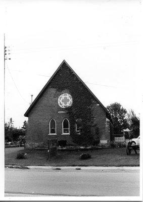St. John's Anglican Church in Virgil