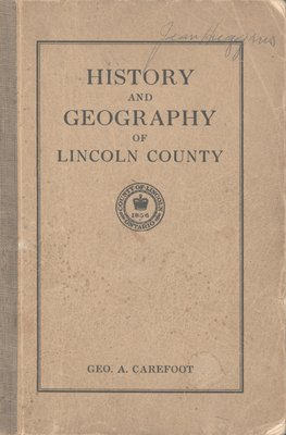 History and Geography of Lincoln County