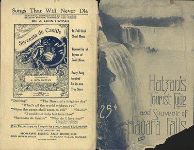 Tourist Guide and Souvenir of Niagara Falls