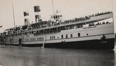 Steamship Cayuga, May 20, 1950