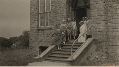 Women's Institute Hall opened in former Queenston Baptist Church.