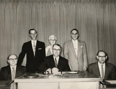 Niagara Township 1957 election winners