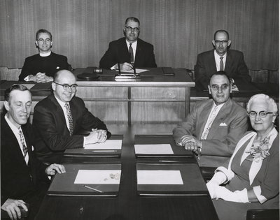 Niagara Township Council elected in December 1957