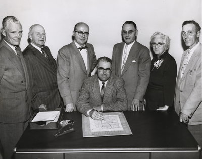 Niagara Township Winners, elected in December 1957.