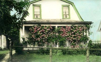 Robert Nichol's home, circa 1945