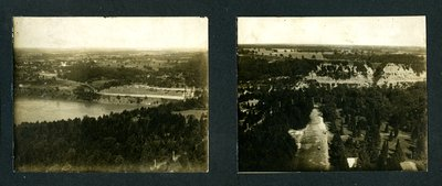 Photo taken from Brock's Monument toward Lewiston N.Y., early 1900s