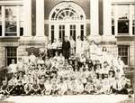 Students of Laura Secord Memorial School in Queenston, school year 1925-26