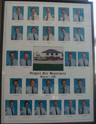Members of Niagara Fire Department, District One - 1996