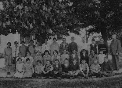 Virgil Public School - Class photo