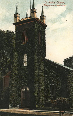 St. Mark's Church, Niagara-on-the-Lake, 1910