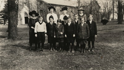 St. Mark's Sunday School in 1920s