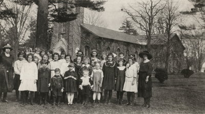 St. Mark's Sunday School in 1920s