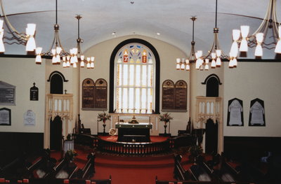 Interior of St. Mark's Anglican Church, Niagara-on-the-Lake