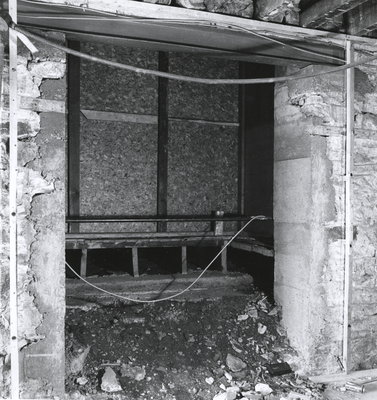 Expansion work at the Niagara-on-the-Lake Public Library - April 1973