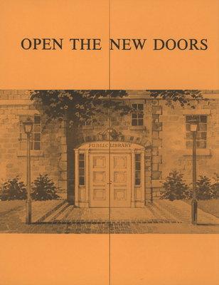 """""""Open the new doors"""""""