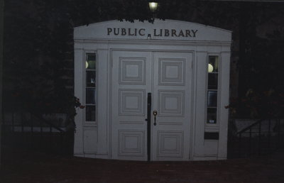 Niagara-on-the-Lake Public Library - the last night at the Courthouse