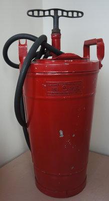 Dayton Pump fire extinguisher