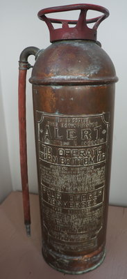 Alert fire extinguisher