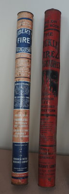 Bickle and Liberty dry powder fire extinguishers