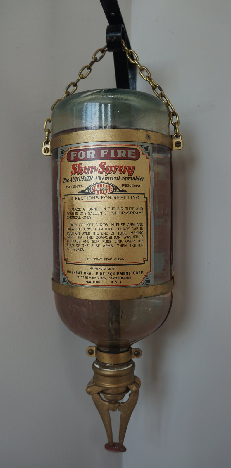 Shur Spray Glass Fire Extinguisher Niagara On The Lake