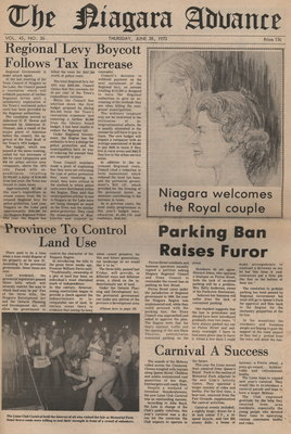 The Niagara Advance. June 28, 1973