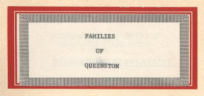 Families of Queenston