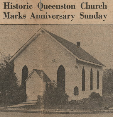 Historic Queenston Church marks the 163rd anniversary
