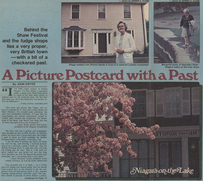 A picture postcard with a past