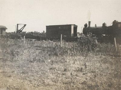 Queenston crash of 1915