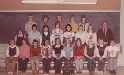 Colonel John Butler Public School, 1974-75, grade 7