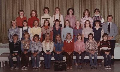Colonel John Butler Public School, 1976-77, grade 7